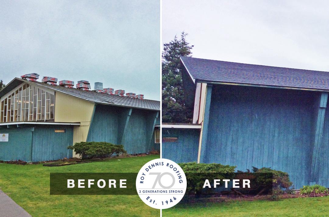 South Arm United Church Reroofing – Richmond