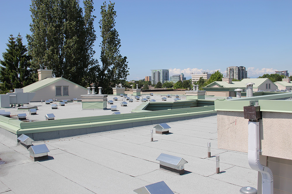 Commercial New Roof Queens Gate Condo Richmond Roy