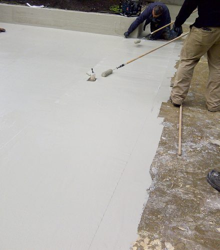 Commercial Pond Liner Restoration – Beach Ave – Vancouver